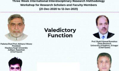 3-week research workshop at KU