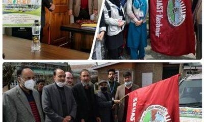 SKUAST-K flags off sericulture students