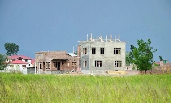 Agricultural land conversion
