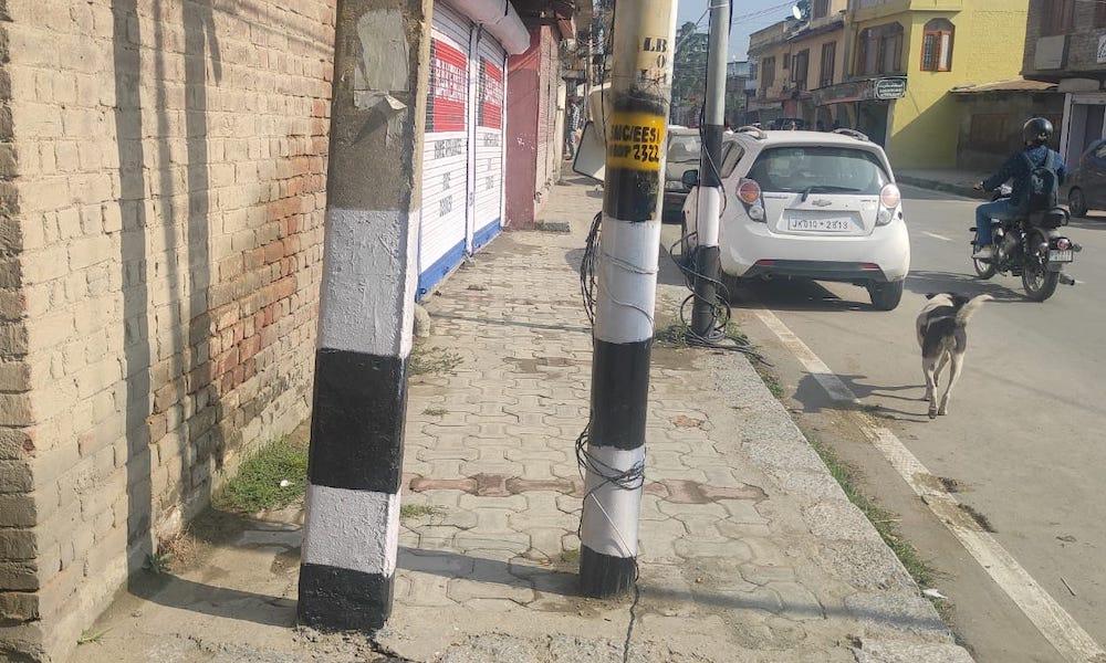 Srinagar roads unfriendly for pedestrians